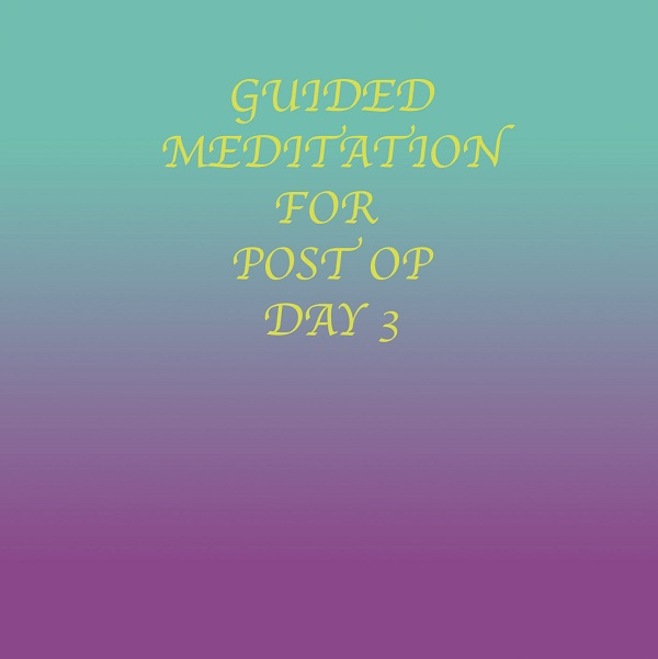 Post Surgery Healing - Guided Meditation (Immediate Download)
